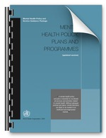 Mental Health Policy, Plans and Programmes